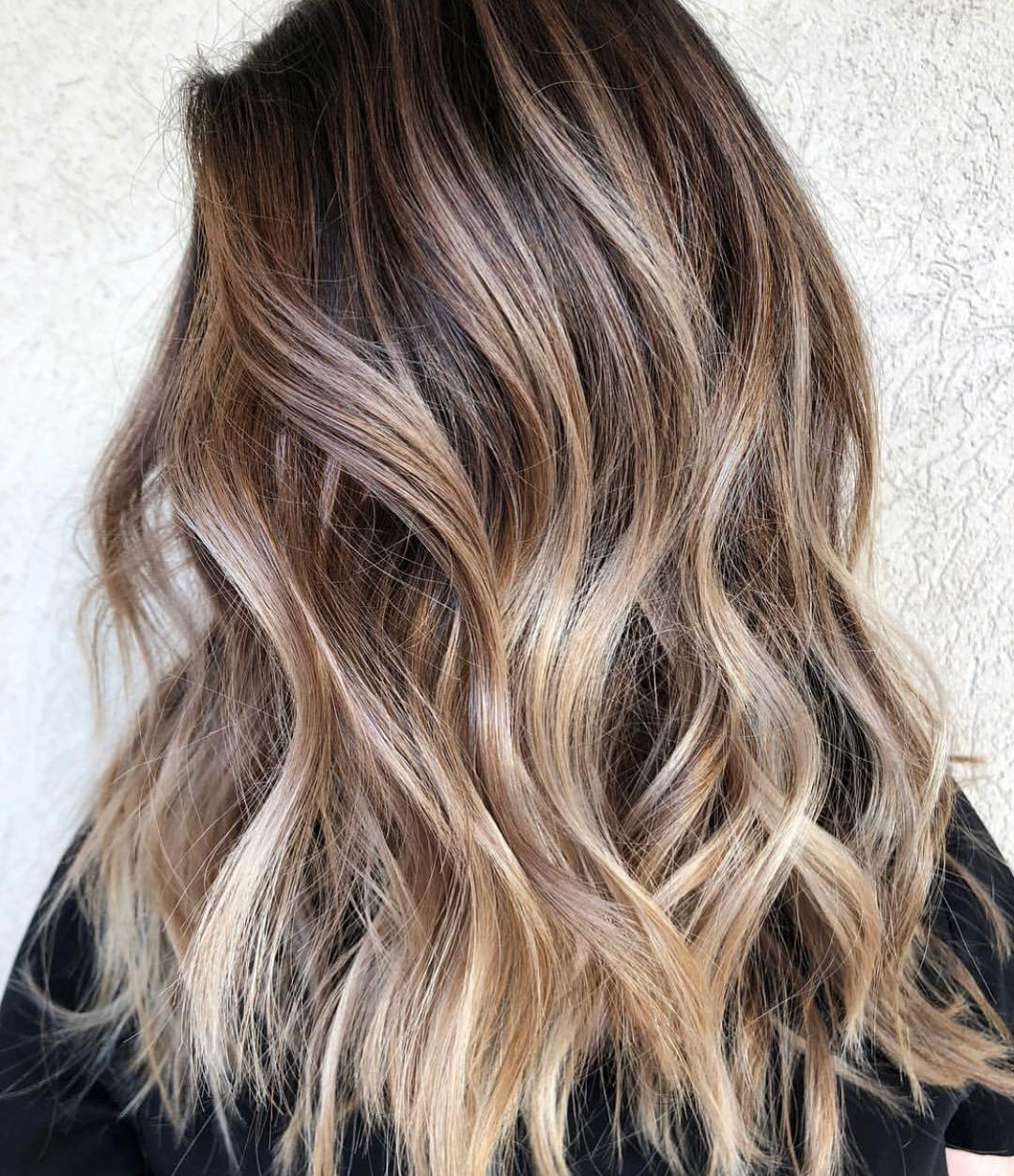 70 Balayage Hair Color Ideas With Blonde Brown And Caramel Highlights